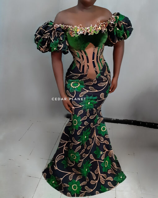 pinch to snatch ankara dress